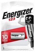 Батарейка ENERGIZER Lithium CR123/123/CR123A BL1 - (блистер 1шт)