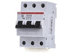 Выключатель автоматический трехполюсный 50А В S203 6кА (S203 B50)