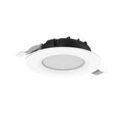 """Cветильник светодиодный """"ВАРТОН"""" DL-SLIM круглый встраиваемый 121*38мм 10W 3000K IP44 монтажный диаметр 95 мм"""