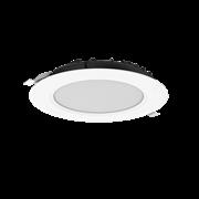"""Cветильник светодиодный """"ВАРТОН"""" DL-SLIM круглый встраиваемый 172*38мм 20W 4000K IP44 монтажный диаметр 145 мм"""