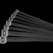 Хомут 400х4.8мм черный нейлон (100шт) (71344)