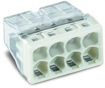 Клемма WAGO 8х2,5 прозрачная (100 шт/уп)