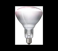 PHILIPS  IR250CH BR125 E27 230-250V  d125x173 прозрачная - лампа