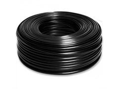 Провод круглый ПВХ 3х0,75мм2 черный (100 м) (Salcavi Италия)