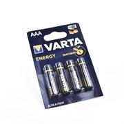Батарейка VARTA ENERGY LR03 AAA BL4 (блистер 4шт)