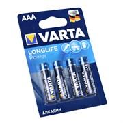Батарейка VARTA LONGLIFE POWER LR03 AAA BL4 (блистер 4шт)