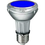 BLV    HIT-PAR 20 35W  bl  E27 35W 95V 0,5 A     750cd   6000h   u360  синяя -  цветная лампа