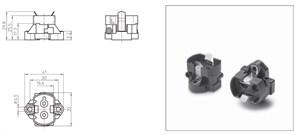 42100 VS Патрон GX12 для LCP-FSSG F M4  - патрон