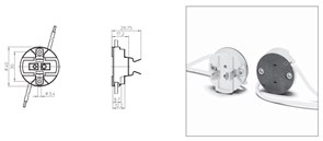 37000(37001)VS Патрон GY9.5   CE-LH 5KV - патрон