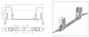 32361 VS Патрон RX7s керамика на планке 114,2мм. провод 1 кв.мм