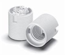 64501 VS Патрон Е27  для защитных колпачков термопласт 210° белый резьба М40х2,5