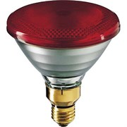 НЕТ! PHILIPS  IR175R   PAR38 E27 230V d121x136 RED красная - лампа