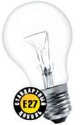Лампа накаливания Е27 стандарт 40W прозр. NI-A-40-230 CL Navigator