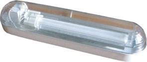 Материалы Корпус - штампованная сталь Покрытие - порошковая эмаль белого цвета Отражатель - гладкий алюминий Рассеиватель - поликарбонат Установка Светильник рекомендуется устанавливать на стену или на потолок Модификации 001 - ЭмПРА Некомпенсированный 00