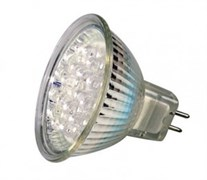 HRS51   2W  LED21  GU5.3 COOL WHITE (230V - 240V, 90lm) -  лампа