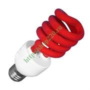 ESL  L9 20W   RED          E27 СПИРАЛЬ d48X127 FOTON -  лампа (E078)