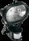 FL- 1005G      150W MAX Черный, овал. с датчиком движ - прожектор  (БЕЗ ЛАМПЫ) АКЦИЯ! - фото 12872